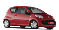 Citroen C1 in red